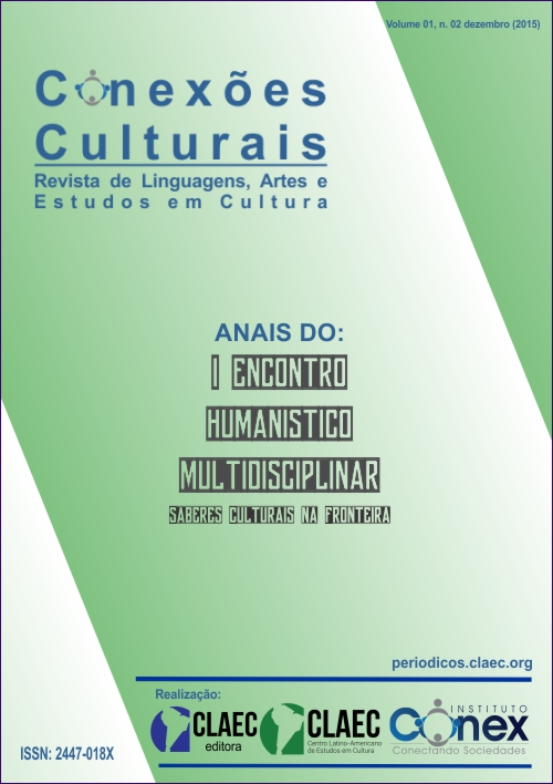CAPA - Anais - I Encontro Humanístico Multidisciplinar