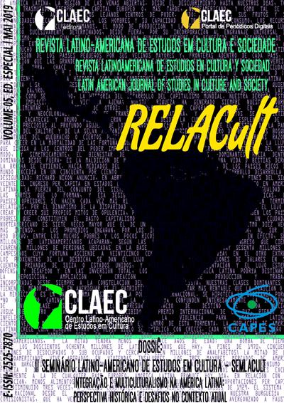 Visualizar v. 5 (2019): Edição Especial - II SEMLACult
