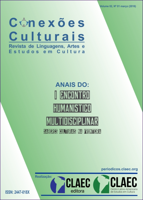 Visualizar v. 2 n. 1 (2016): Anais - I Encontro Humanístico Multidisciplinar
